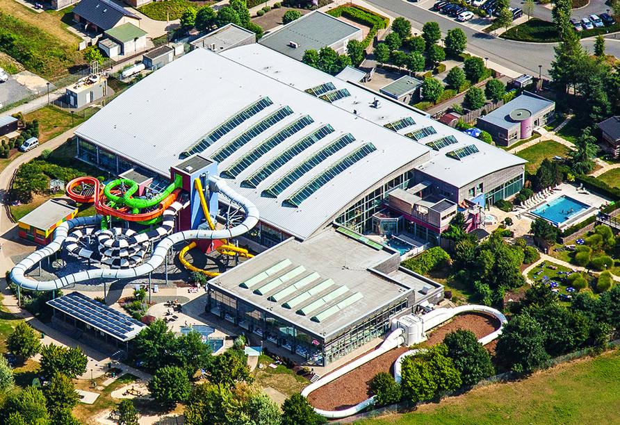 Der AquaMagis Wasser- und Rutschenpark freut sich auf Ihren Besuch!
