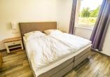 Beispiel eines Schlafzimmers im Appartment