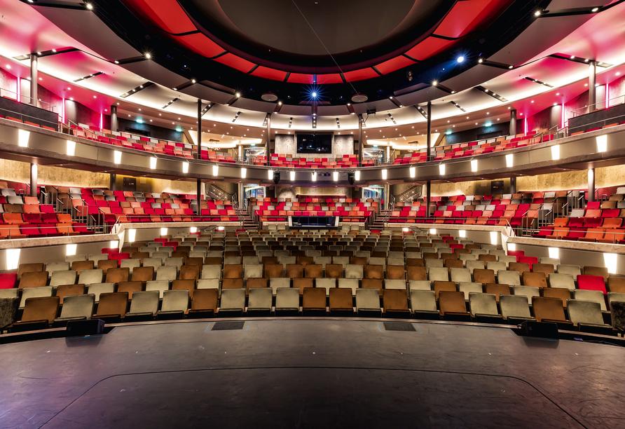Mein Schiff 6, Theater