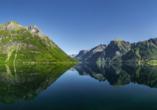 Costa Diadema, Landschaft Norwegen