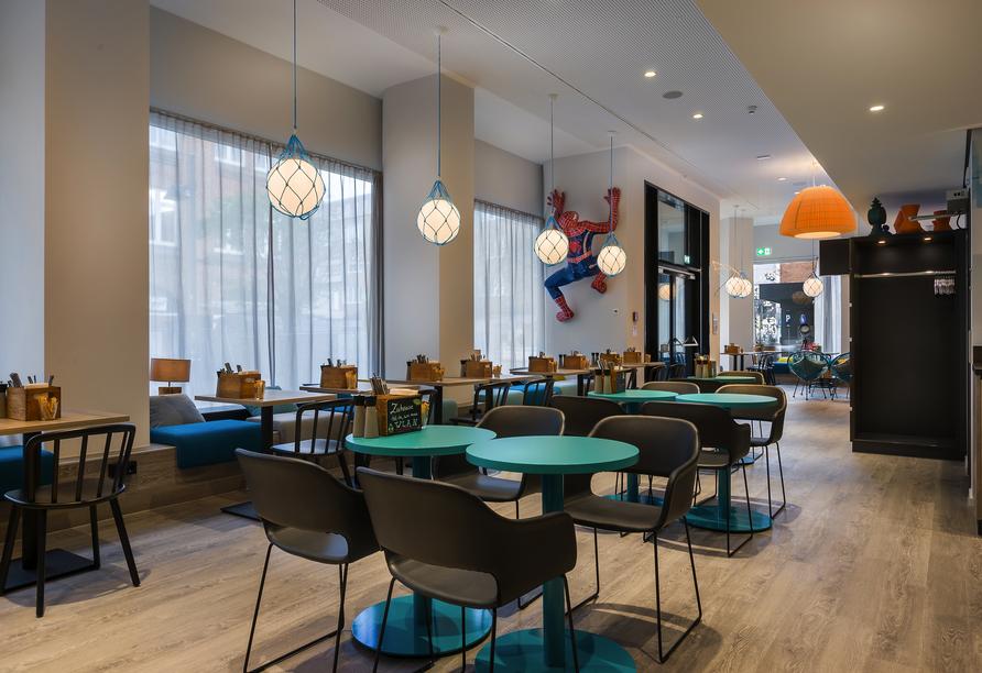 Hotel the niu Welly Kiel, Restaurant