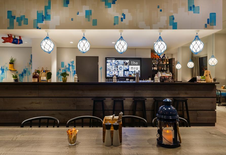 Hotel the niu Welly Kiel, Bar