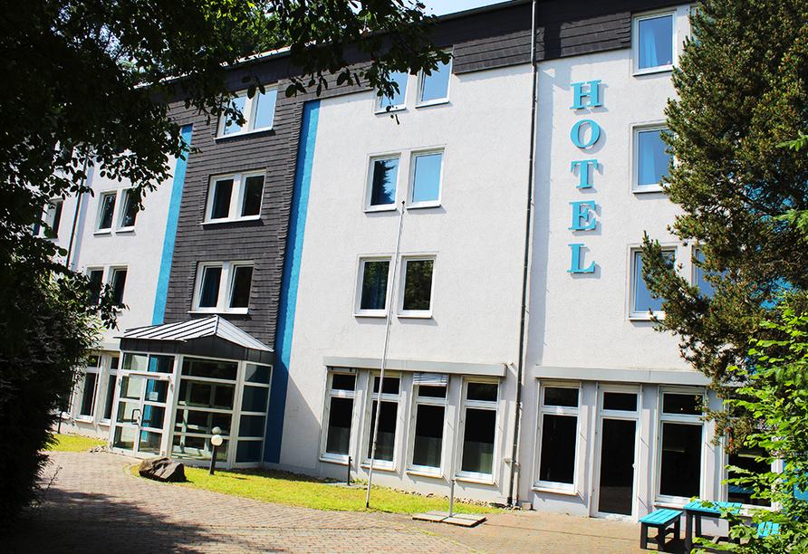 Außenansicht des Hotels Rheinsteig Quartier (Hotel Besttime)