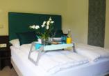 Beispiel eines Doppelzimmers Spar Besttime im Hotel Rheinsteig Quartier