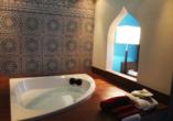 Beispiel einer Suite Besttime mit Whirlpool im Hotel Rheinsteig Quartier