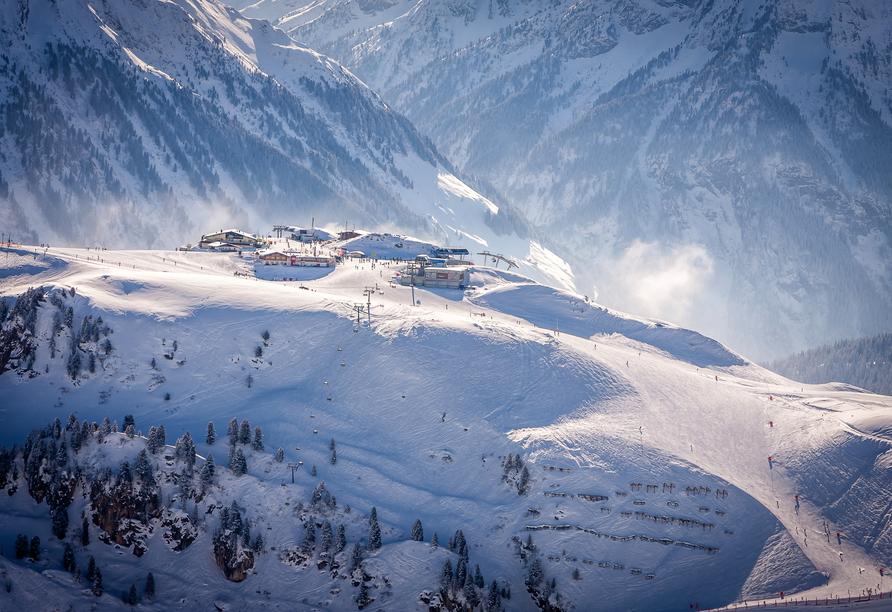 Lieblingsplatz Tirolerhof in Zell am Ziller, Landschaft Winter
