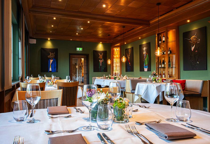 Müller's Landhotel in Mespelbrunn, Restaurant