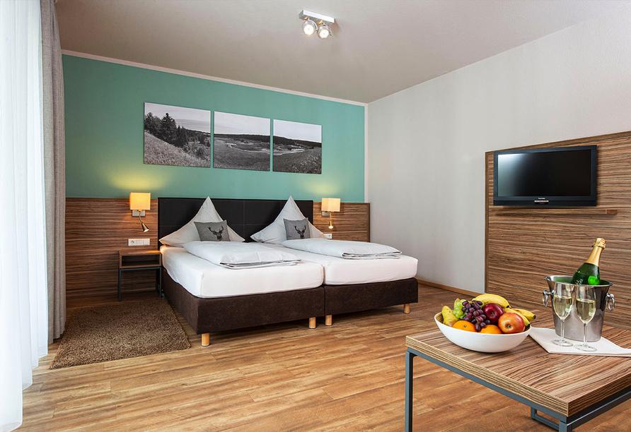 Müller's Landhotel in Mespelbrunn, Beispielzimmer