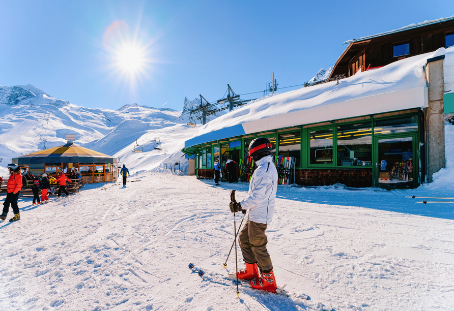 Lieblingsplatz Tirolerhof in Zell am Ziller, Ski