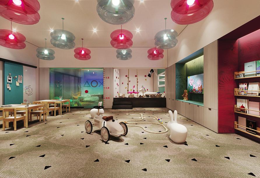 Hotel Royal Tulip Sand in Kolberg, Polen, Spielzimmer