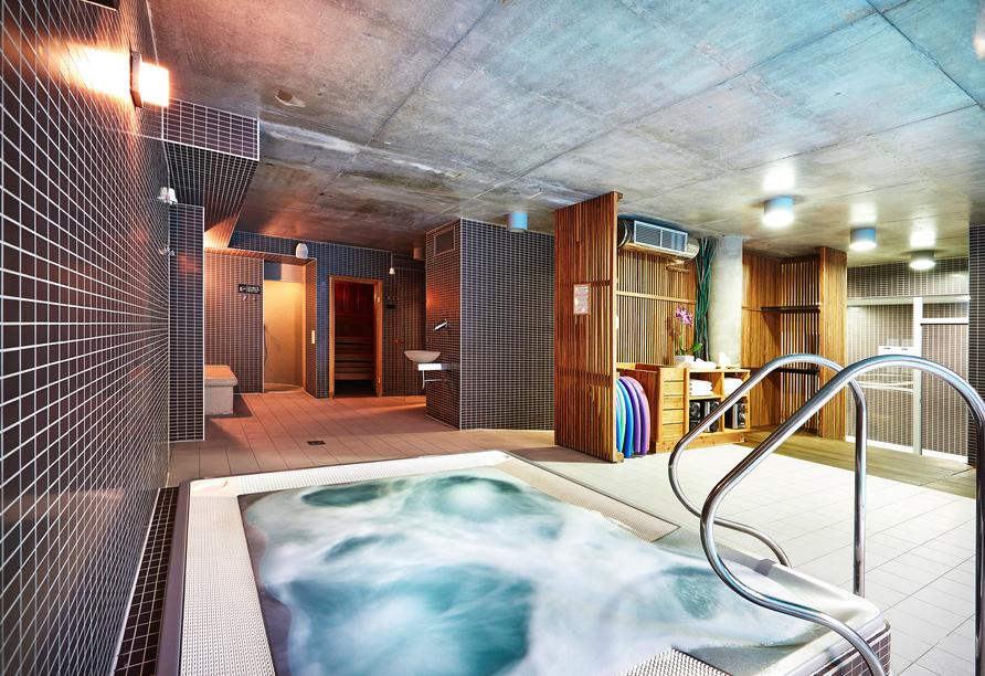 Hotel Royal Tulip Sand in Kolberg, Polen, Whirlpool