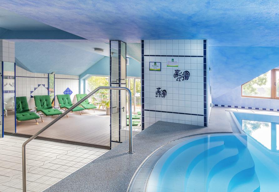 Hotel de Poort, Wellnessbereich
