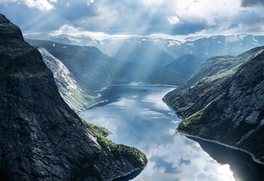 Mein Schiff 1, Geirangerfjord
