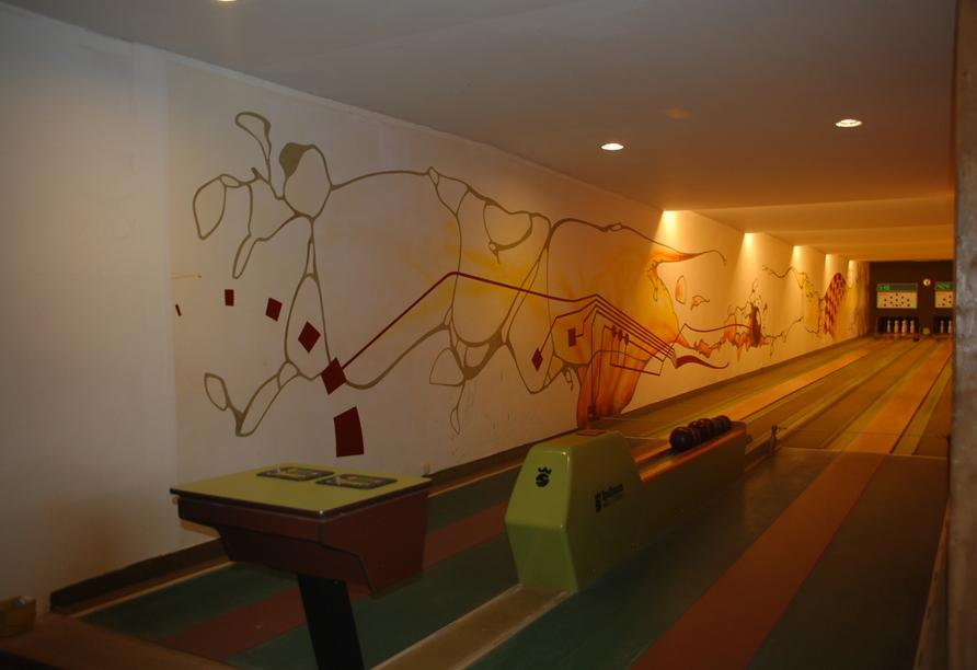 Casilino Hotel Schweriner Tor, Kegelbahn