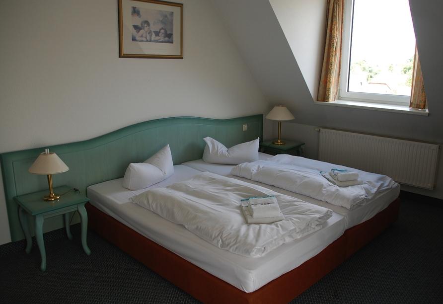 Casilino Hotel Schweriner Tor, Beispiel Doppelzimmer