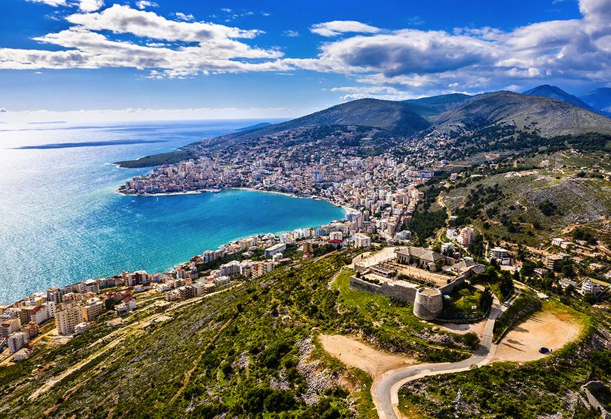 Saranda ist einer der beliebtesten Urlaubsorte in Albanien.