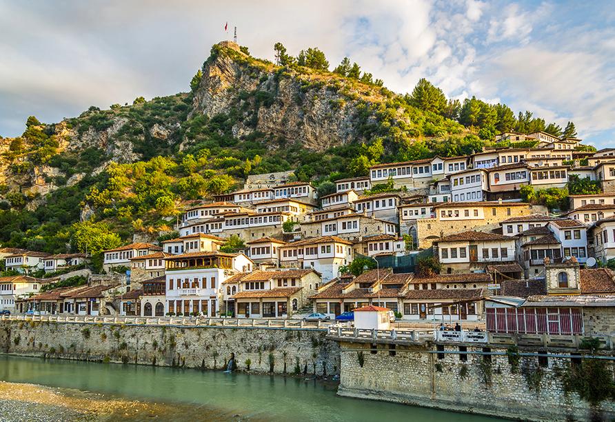 Berat wird auch die Stadt der Tausend Fenster genannt.
