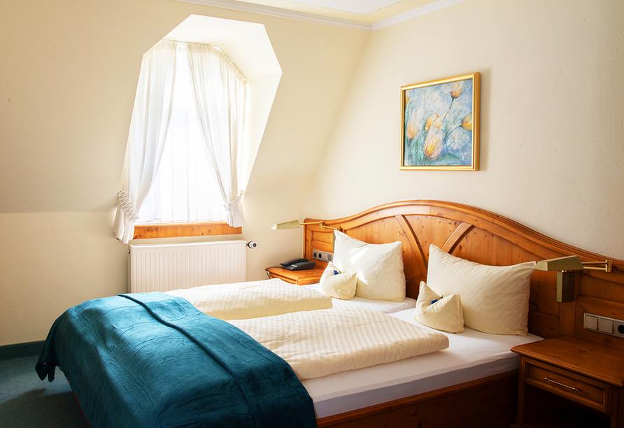 Beispiel eines Doppelzimmers Komfort im Hotel Landhaus Wacker