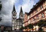 Entdecken Sie die historische Stadt Boppard.