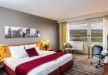 Beispiel eines Doppelzimmers Komfort im Leonardo Royal Hotel Frankfurt