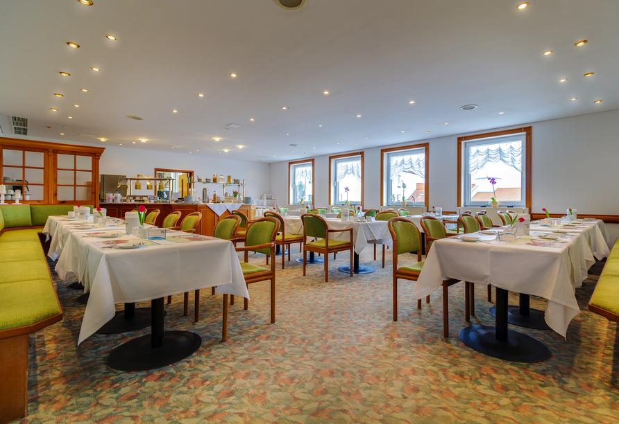 Hotel Astor Altenburg, Frühstücksrestaurant