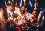 Stoßen Sie auf das neue Jahr an und feiern Sie ausgelassen in Amsterdam.
