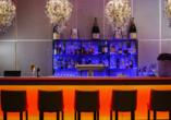 Leckere Getränke erwarten Sie an der Bar.