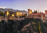 Mein Schiff Herz, Blick auf Alhambra