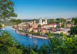 Ihre Donaukreuzfahrt startet in der schönen Drei-Flüsse-Stadt Passau.