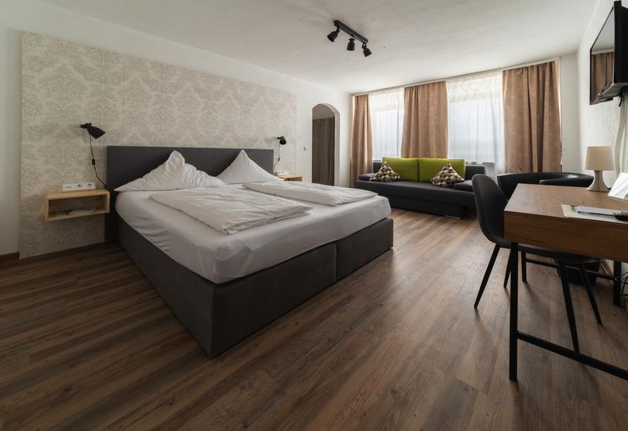 Beispiel Doppelzimmer Komfort im Land-gut-Hotel Sockenbacher Hof