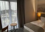 Hotel Atol Resort in Swinemünde, Polnische Ostsee, Beispiel eines Zimmers