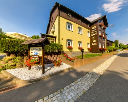 Hotel Seiffener Hof, Außenansicht Hotel