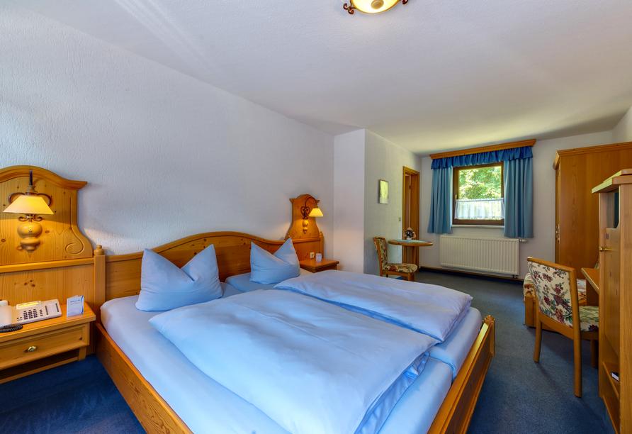 Hotel Seiffener Hof, Beispiel eines Zimmers