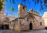 Entdecken Sie die Sehenswürdigkeiten der Region wie das Kloster in Ayia Napa.