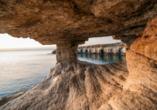 Das Kap Greko ist der ist der östlichste Punkt der Republik Zypern.