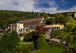 Außenansicht des Wellnesshotels Rothfuss in Bad Wildbad