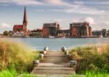 Besuchen Sie die alte und schöne Hansestadt Rostock.