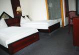 Beispiel eines Doppelzimmers im Casilino Hotel Rostocker Tor