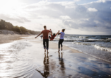 Verbringen Sie einen schönen Strandtag an der Ostsee.