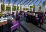 Hotel & Restaurant Nordstern in Neuharlingersiel, Wintergarten