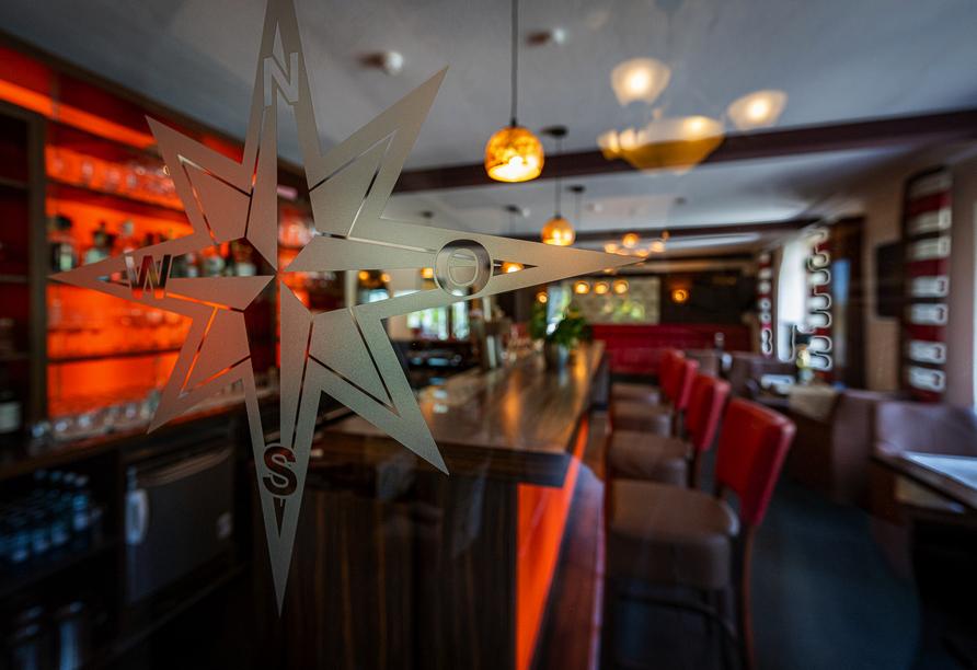 Hotel & Restaurant Nordstern in Neuharlingersiel, Bar