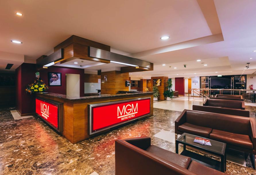 Herzlich willkommen zu Ihrem Urlaub im Muthu Raga Madeira Hotel!