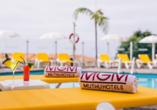 Während Ihres Langzeiturlaubs haben Sie genügend Zeit am Pool zu entspannen.