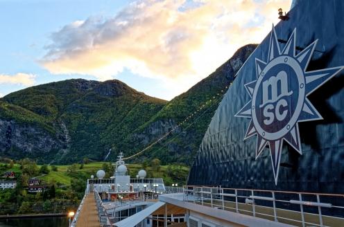 MSC Preziosa, Norwegen