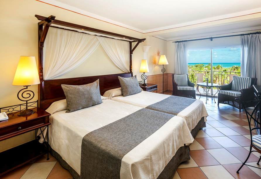 Melia Las Dunas, Beispiel eines Doppelzimmers