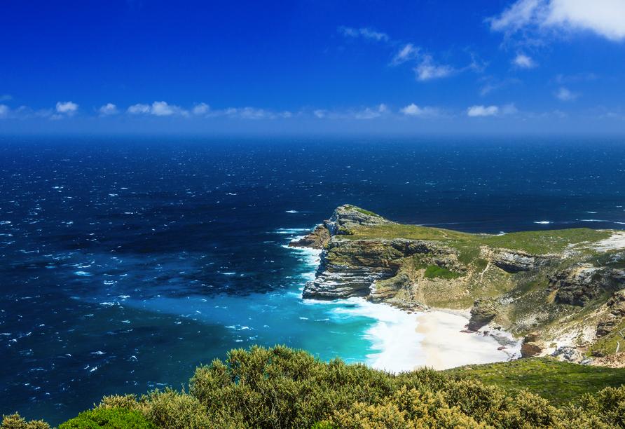 Das Kap der Guten Hoffnung wurde früher aufgrund seiner Klippen von Seefahrern gefürchtet.
