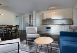 Precise Resort Marina Wolfsbruch, Beispiel Küche Appartement Ferienhaus