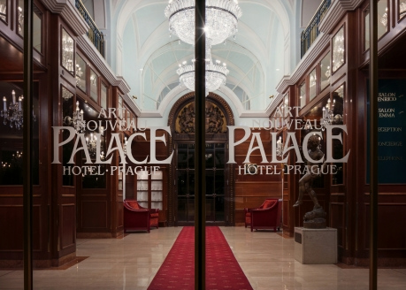 Art Nouveau Palace Hotel, Eingangsbereich