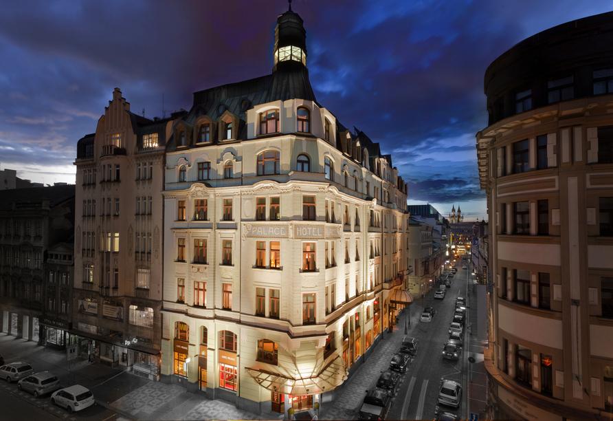 Art Nouveau Palace Hotel, Außenansicht