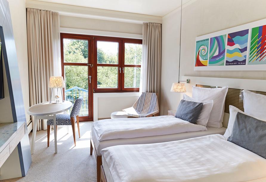 Steigenberger Conti Hansa, Beispiel Doppelzimmer Komfort